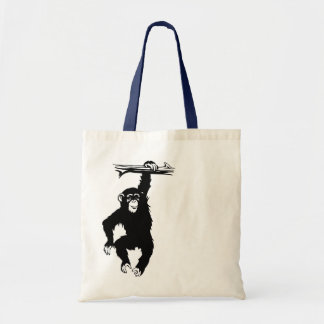 Funky  Monkeys Dag Tote Bag