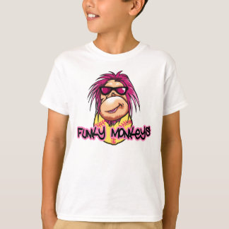 Funky Monkeys kids t-shirt