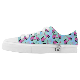 Funky Moped Low Tops