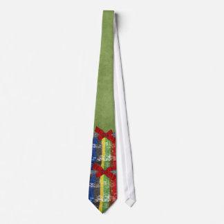 Funky Multi Colored Sequin Rhinestone Neck Tie