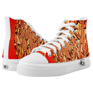 Funky Namibia Desert Soil High Top Shoes Sneakers