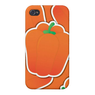 Funky orange pepper case for the iPhone 4