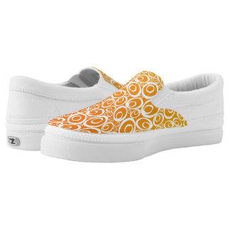 Funky Ovals - tangerine dream Z slipons Printed Shoes