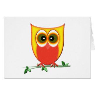 Funky Owl Card