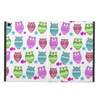 funky owls iPad air covers