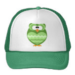 funky owls mesh hat