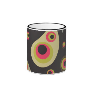 Funky Paisley Coffee Mug