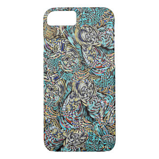 Funky phone cover multi-colored modern design