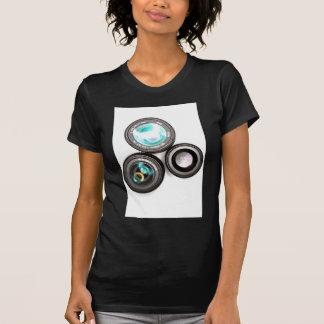 funky photography lens set tee shirts