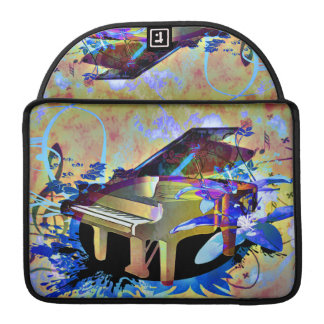 Funky Piano Sleeve For MacBooks