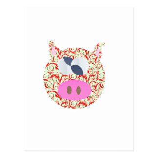 Funky Pig Post Card