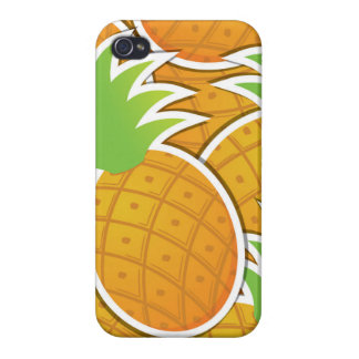 Funky pineapple iPhone 4 case