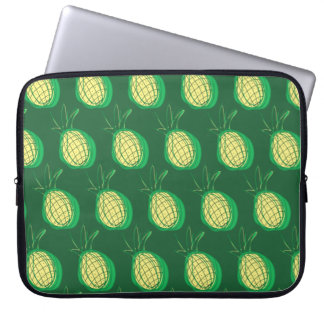 Funky pineapples laptop sleeve