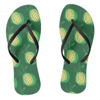 Funky pineapples thongs