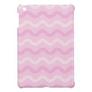Funky PINK Waves iPad Mini Cover