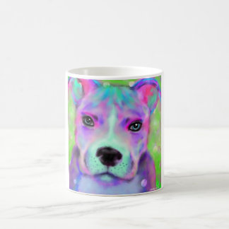 Funky Pitbull Coffee Mug