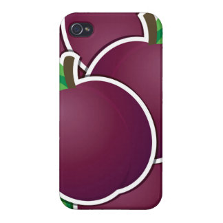 Funky plum cover for iPhone 4