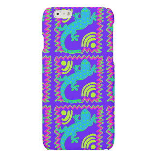 Funky Polka Dot Lizard Pattern iPhone 6 Case