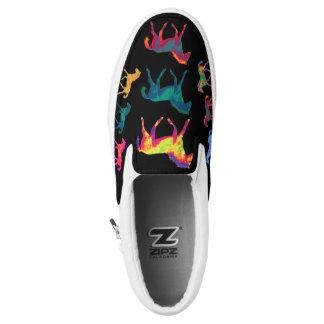 Funky Ponies Colt Pattern WildHerdz Loafers Printed Shoes