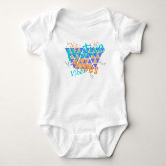 Funky Positive Vibes Baby Bodysuit