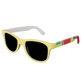 Funky Positive Vibes Sunglasses
