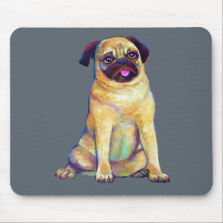 Funky Pug Mouse Pad