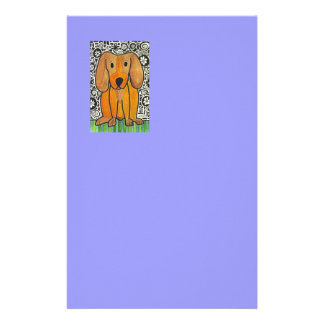 Funky Puppy Stationery