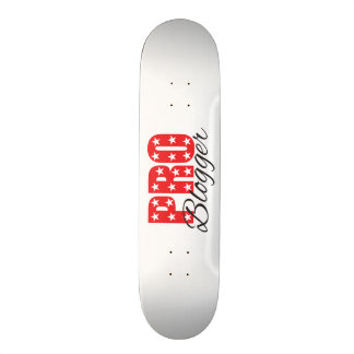 funky quotes pro blogger skateboard deck