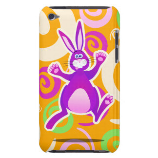 Funky rabbit, iPod case Barely There iPod Cover