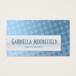 Funky Rain Personal Assistant Business Cards