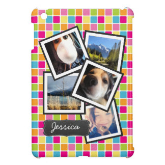 Funky Random Instagram Photo Collage iPad Mini Case