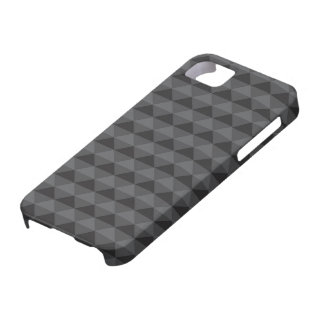 Funky Retro Design - Black/Gray Barely There iPhone 5 Case