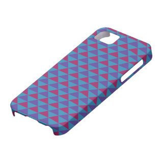 Funky Retro Design - Blue/Purple Barely There iPhone 5 Case