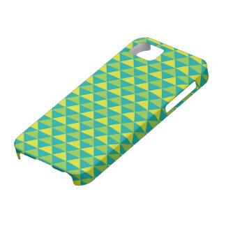 Funky Retro Design - Green iPhone 5 Cases