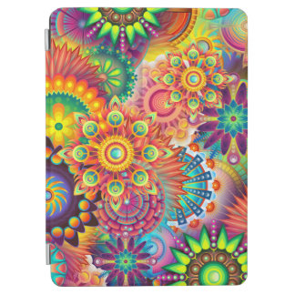 Funky Retro Pattern Abstract Bohemian iPad Air Cover