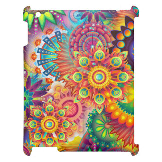 Funky Retro Pattern Abstract Bohemian iPad Cover