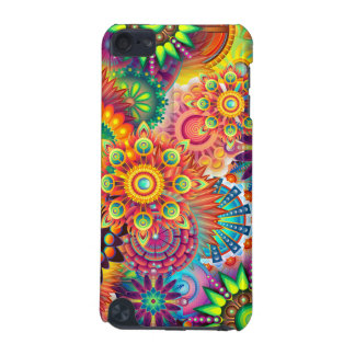 Funky Retro Pattern Abstract Bohemian iPod Touch (5th Generation) Case