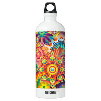 Funky Retro Pattern Abstract Bohemian SIGG Traveller 1.0L Water Bottle