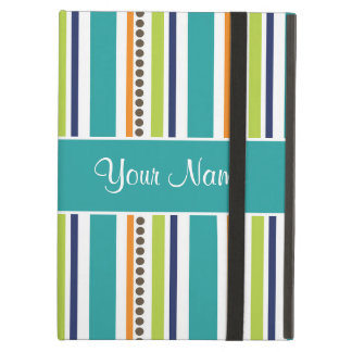 Funky Retro Stripes and Spots iPad Air Cover