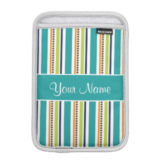 Funky Retro Stripes and Spots iPad Mini Sleeve
