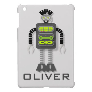 Funky Robot Personnalised iPad Mini Cover