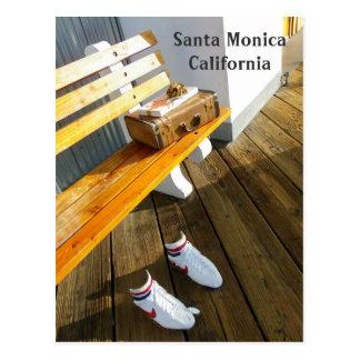 Funky Santa Monica Postcard!