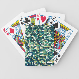 Funky Sequins Bicycle Playing Cards