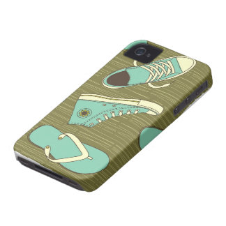 funky shoes iphone 4/4s barely there case Case-Mate iPhone 4 cases