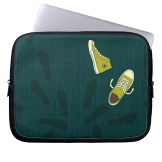 funky shoes laptop sleeve