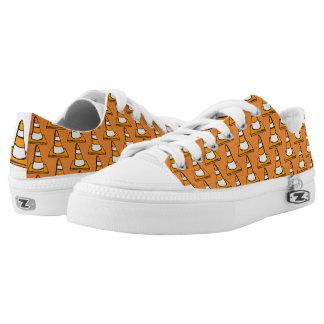 Funky sneakers cones