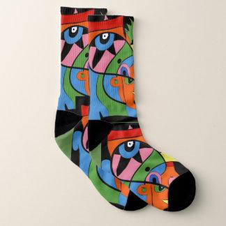 Funky socks 1