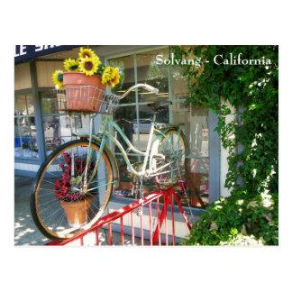 Funky Solvang Postcard! Postcard