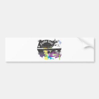 Funky Soul Bumper Sticker