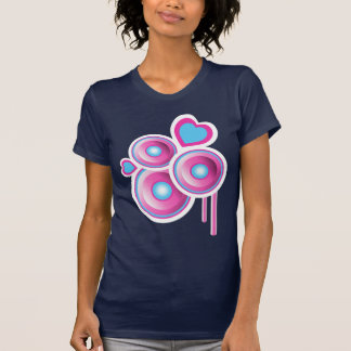 Funky Speakers & Hearts Abstract Shirts